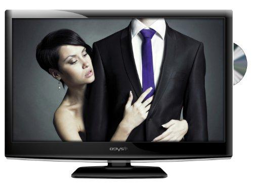 Odys Fino X24 60 cm (23,6 Zoll) LED-Backlight-Fernseher, Energieeffizienzklasse A (Full-HD, 50Hz, DVB-T, integrierter DVD-Player) schwarz
