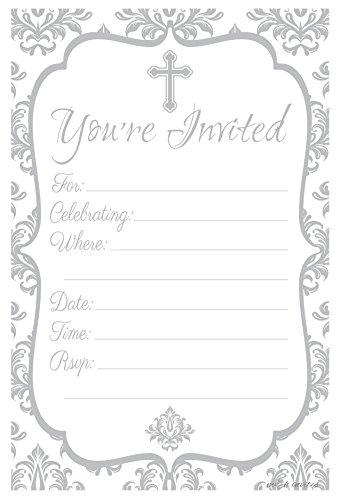 Fill Christening Invitations