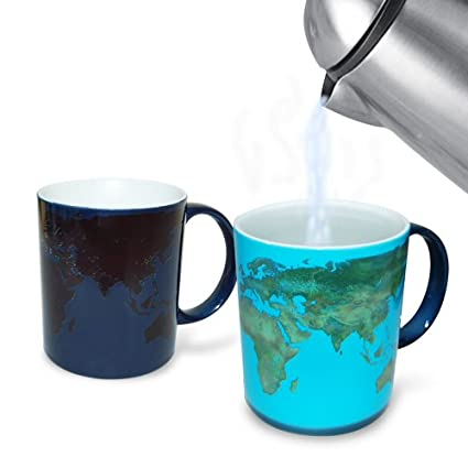 Travel gifts lassen tours blog day and night mug from amazon 2343 pour a cup of hot tea coffee or whatever you prefer and watch this fun mug change to reveal a world map gumiabroncs Gallery