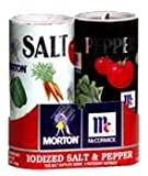 Morton's Salt, Mccormick Pepper Pack, 5.25-ounce Shakers