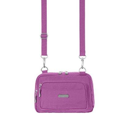 Baggallini-Triple-Zip-Bag-Lilac-One-Size