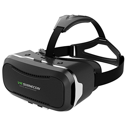 360° Viewing Immersive Virtual Reality Headset