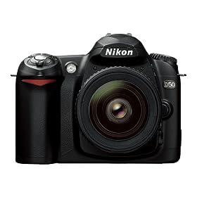 Amazoncom  Nikon D50 61MP Digital SLR Camera with 18