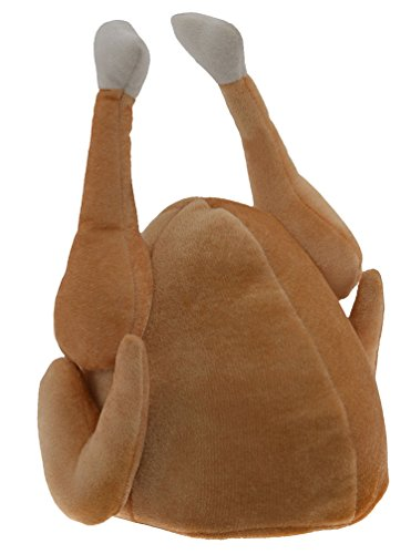 Kangaroos Plush Thanksgiving Day Roasted Turkey Hat