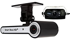 ドライブレコーダー スマートレコHD+ [WHSR-3222] 前後2カメラ 駐車監視付