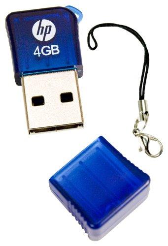 HP v165w 4 GB USB 2.0 Flash Drive P-FD4GBHP165-EF (Blue)