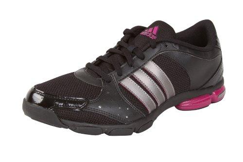 Adidas Core 55 Damen Trainingsschuhe Workout Schuhe Training Fitness Sport Fitnessschuhe Sportschuhe Freizeitschuhe Turnschuhe Hallenschuhe Freizeitschuhe Sneakers Aerobic Frauen Schwarz Black Größe 36 2/3 UK 4
