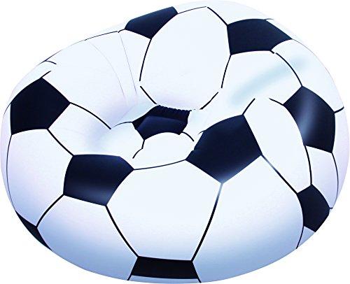 Bestway Fußballsessel Soccer Ball, 114 x 112 x 71 cm