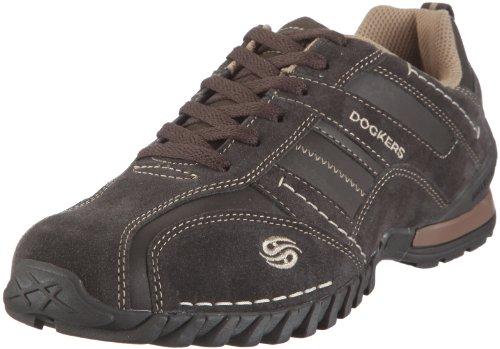 Dockers 292581-350010, Herren Halbschuhe, Braun (chocolate 010), EU 42