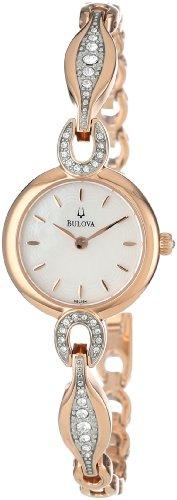 s 98l164 crystal bangle watch,bulova women,video review,(VIDEO Review) Bulova Women's 98L164 Crystal Bangle Watch,