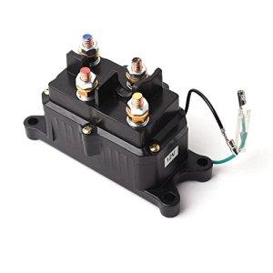 12V Solenoid Relay Contactor & Winch Rocker Thumb Switch COMBO for ATV UTV  UTVSXS