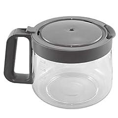 KRUPS XB501050 12-Cup Glass Carafe Grey