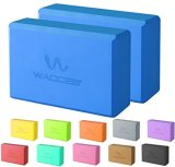 Wacces-2-Pack-Exercise-Fitness-Yoga-Block-Set-Eco-Friendly
