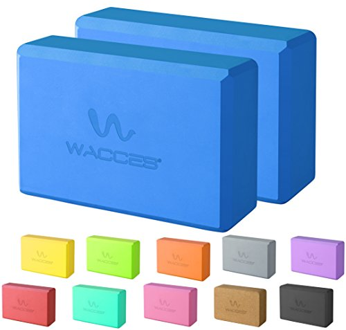 Wacces 2 Pack Yoga Block Set