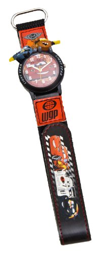 Cars 2 Disney Jungen-Armbanduhr Analog Quarz 25874