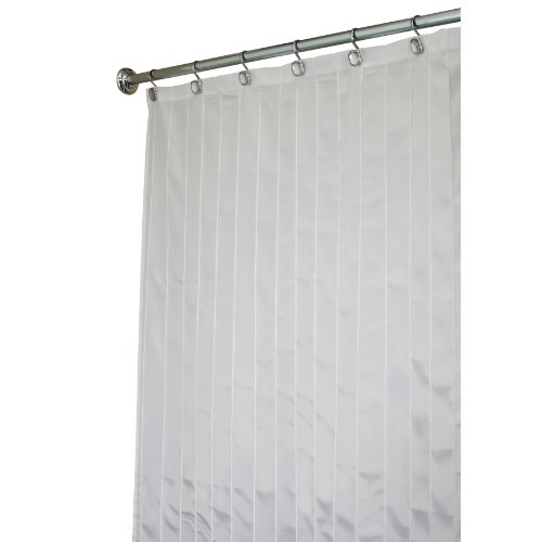 interdesign pin tuck x wide shower curtain white 108 inches x 72 inches shower curtains outlet shower curtains outlet