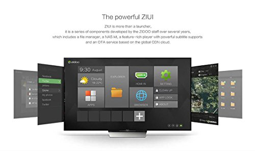 ZIDOO X9S Android TV BOX Android 6.0 + OpenWRT(NAS) Realtek RTD1295 2G/16G Dual Band WIFI 1000Mbps LAN HDR USB3.0 HDMI IN Recoder SATA 3.0 Bluetooth Media Player