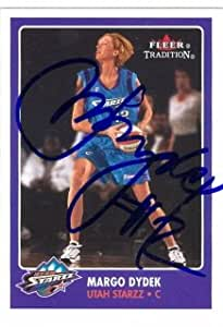 Margo Dydek autographed Basketball Card (Utah Starzz) 2001 ...
