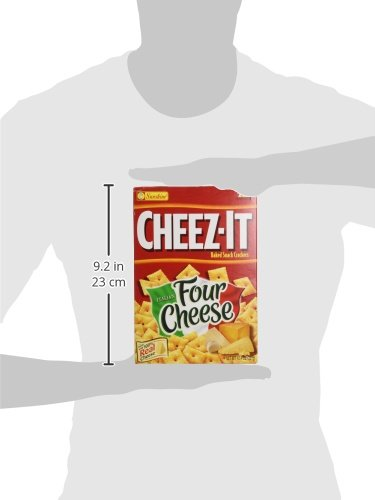 Cheezit Baked Snack Crackers Italian Four Cheese 1 Food