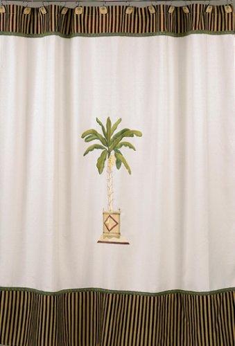 Avanti Banana Palm Shower Curtain