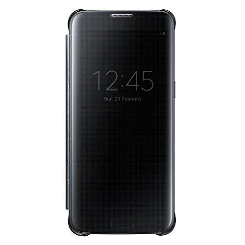 Galaxy S7 edge用 Clear Viewカバー ブラック 【Galaxy純正 国内正規品】 EF-ZG935CBEGJP