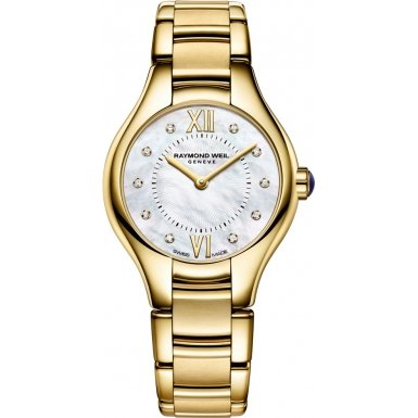 raymond weil noemia mop dial gold-tone ss quartz ladies watch 5124-p-00985,video review,(VIDEO Review) Raymond Weil Noemia MOP Dial Gold-Tone SS Quartz Ladies Watch 5124-P-00985,