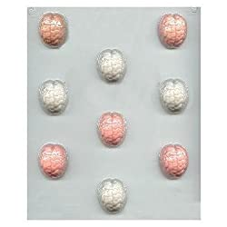 Bite Size Brains Candy Molds