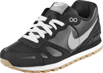 Nike Air Waffle Trainer Leather schwarz Gr.46 EU / 12 US