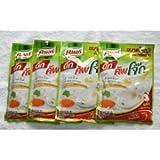 Knorr Energy Cup Jok Instant Porridge Chicken Flavour Delicious Breakfast (4 Sachets)