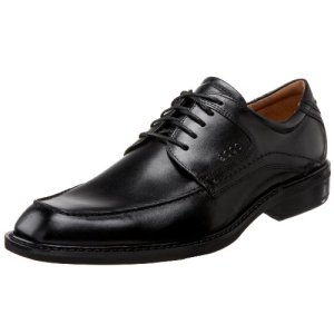 ECCO Men's Windsor Tie Oxford,Black,44 EU (US Men's 10-10.5 M)
