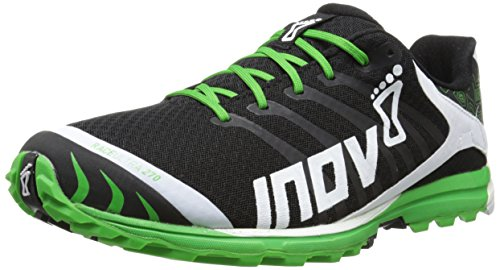 Inov-8 Men's Race Ultra 270 P Trail Running Shoe,Black/White/Green,10 W US