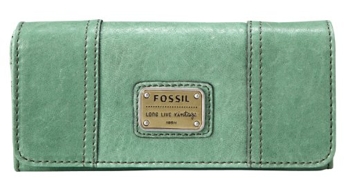 Fossil SL3006 Emory 29 Clutch Damen Geldbörse Grün