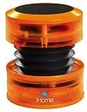 iHome Portable Speaker for MP3 Players (Orange Neon)
