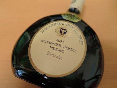 ヴュルツブルガー・アプツライテ リースリング アイスワイン 2003 375ml