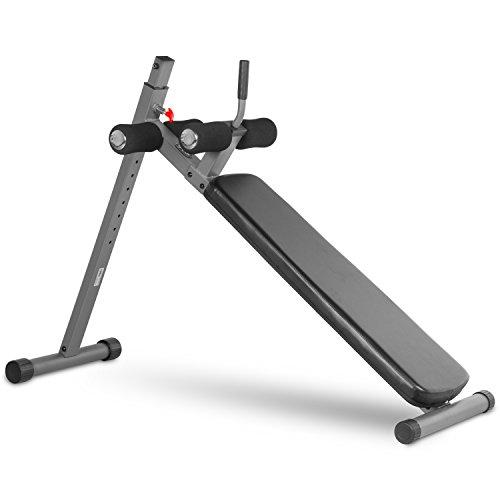Xmark Position Ergonomic Adjustable Decline Ab Bench Xm
