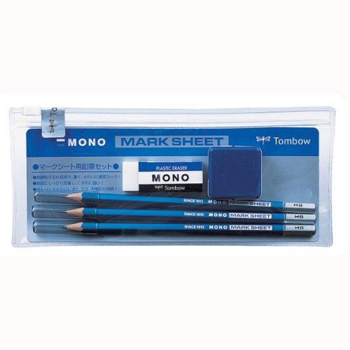 トンボ鉛筆 鉛筆 MONO マークシートセット MA-PMS
