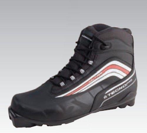 Original Tecno Pro Ultra Langlauf - Schuh Herren schwarz für Salomon Profil Bindung SNS, Größe:42