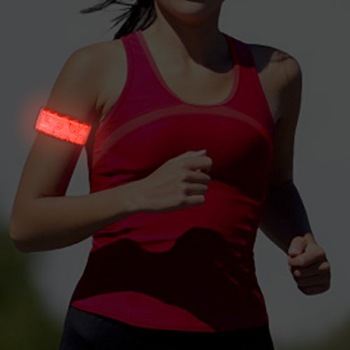 Higo LED Sports Armband Glow in the Dark