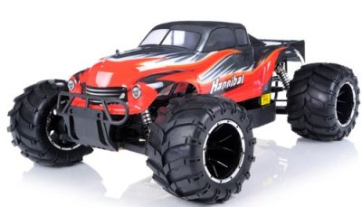 remote-control-radio-control-rc-15th-Giant-Scale-Exceed-RC-Hannibal-30cc-Gas-Engine-Remote-Controlled-Off-Road-RC-Monster-Truck-w-24Ghz-TX-100-RTR-Fail-Safe-AA-red-or-next-available-color-may-vary-sen