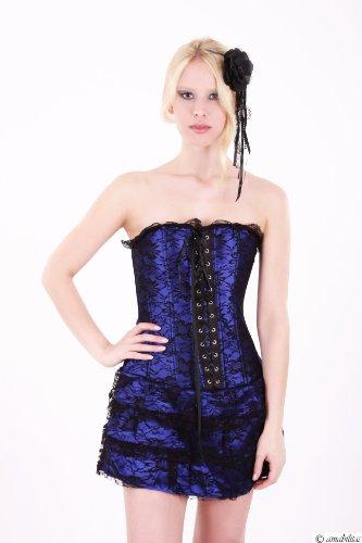 Mystisches Corsagen-Kleid Aragona Mit Beidseitiger Schnürung Von Amabilitas