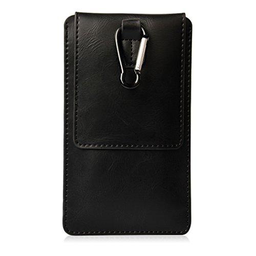 OCATHNON iPhone SE 6 6s ホルスター 4.5~5.2インチ Galaxy/Xperia/Aquosスマホポーチ スマートフォン保護ケース ブラック