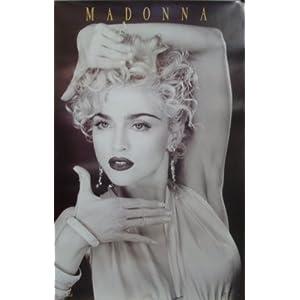 Madonna Vogue Music Poster