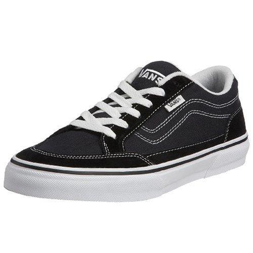 Vans VDT2BZW Herren Sneaker Schwarz (Black/White) EU 44, (US 10.5)
