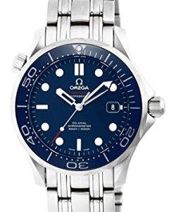 Omega 21230362003001 - Reloj de pulsera Unisex, Acero inoxidable, color Plata