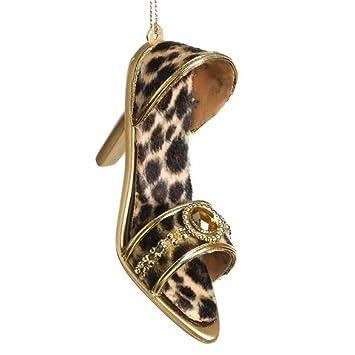 Leopard Print Shoes Ornament