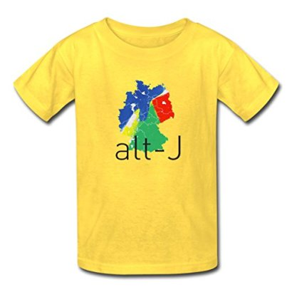 Alt-J-Logo-Outdoor-Young-T-Shirt-LLUTEE-Yellow-X-Large