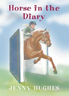 Horse in the Diary (Garland House Mystery) by Jenny Hughes| wearewordnerds.com