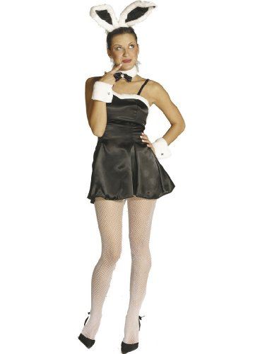 Halloween Cocktail Bunny Black Playboy Bunny Sexy Costume