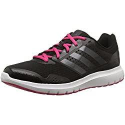 adidas Performance Duramo 7, Damen Laufschuhe, Schwarz (Core Black/Night Met. F13/Bold Pink), 40 2/3 EU (7 Damen UK)