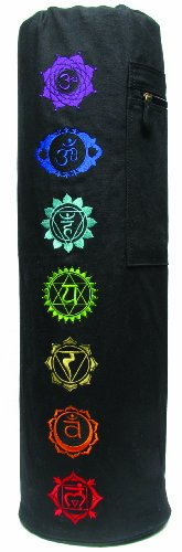 Gaiam Chakra Embroidered Yoga Mat Bag